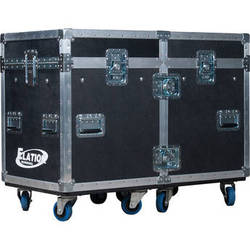 Elation Professional DRCSBXTOUR Dual Road Case for Platinum SBX Fixture