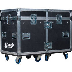 Elation Professional DRCSATTOUR Dual Road Case for Two Satura Spot LED Pro Fixtures