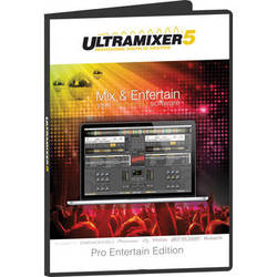 Ultramixer UltraMixer 5 Pro Entertain - Professional DJ Software (Mac, Download)