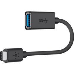 Belkin USB 3.1 Gen 1 USB Type-A Female to Type-C Male Adapter
