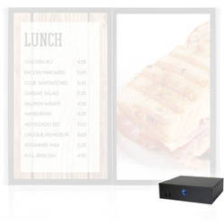 AOPEN nTAKE Value V201 Digital Signage Menu Board Solution