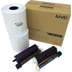 """HiTi 6 x 8"""" Ribbon and Paper Case for P520 Series Printers"""