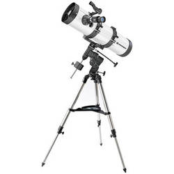 """BRESSER Messier NT130 5"""" f/5 Newtonian Reflector with EQ2 Mount"""