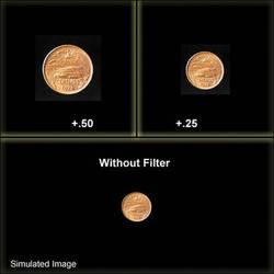 "Schneider 6"" Round Unmounted Full Field +1/2 Diopter (Close-Up Filter)"