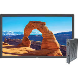 """NEC V323-2 32"""" 1080p S-IPS LED-Backlit Commercial-Grade Display with Integrated Single-Board Computer"""