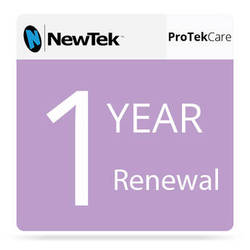 NewTek ProTek Care 1-Year Renewal for TriCaster 460