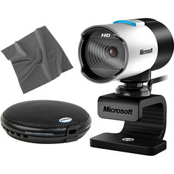 Microsoft LifeCam Studio Webcam and UB1 Conferencing Mic Kit