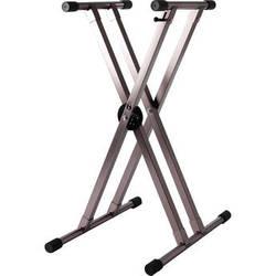 Strukture Knockdown 2X Aluminum Keyboard Stand (Titanium)
