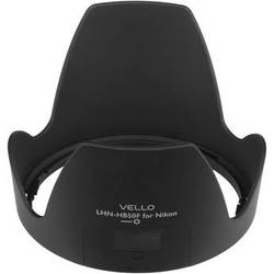 Vello HB-50F Dedicated Lens Hood with Filter Access Panel