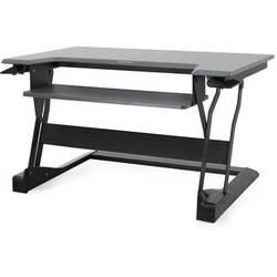 Ergotron WorkFit-T Sit-Stand Desktop Workstation (Black)