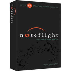 Noteflight Noteflight Music Instruction 3-Year Subscription (Boxed)