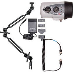 Ikelite DS161 Substrobe and Video Light with Sync Cord, 2-Section Ball Arm, NiMH Battery, and Charger