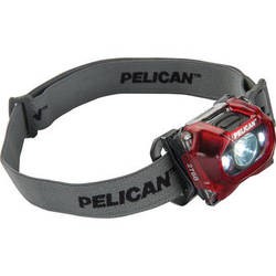 Pelican 2760 v.2 Dual-Spectrum LED Headlight (Translucent Red)