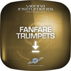 Vienna Symphonic Library Fanfare Trumpet - Vienna Instruments (Extended Library, Download)