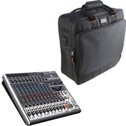 Behringer XENYX X1832USB 18-Channel USB Mixer with Padded Bag Kit