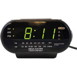 Bolide Technology Group BR2130 Self-Recording Sony Radio Clock with Hidden Spy Camera and DVR