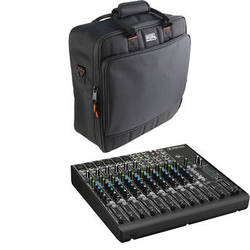 Mackie 1402VLZ4 14-Channel Compact Mixer with Padded Bag Kit