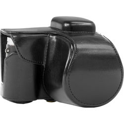 MegaGear MG397 Ever Ready Protective Camera Case with Bag for Samsung NX3000 with 20-50mm Lens (Black)