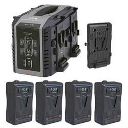 IDX System Technology Endura HL9 V-Mount 4-Battery Kit for AJA CION