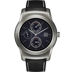 LG Watch Urbane Smartwatch (Silver with Black Strap)