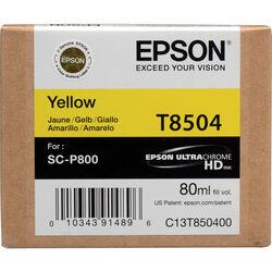 Epson T850400 UltraChrome HD Yellow Ink Cartridge (80 ml)