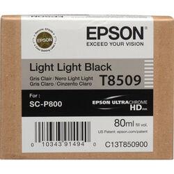 Epson T850900 UltraChrome HD Light Light Black Ink Cartridge (80 ml)