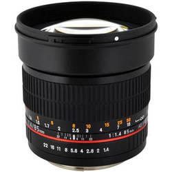 Rokinon 85mm f/1.4 AS IF UMC Lens for Four Thirds
