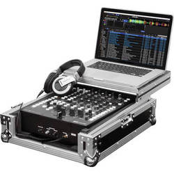 "Odyssey Innovative Designs Flight Zone Glide Style Mixer Case for Rane 64/Universal 12"" DJ Mixer"