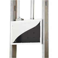 Chief PAC525FCW In-Wall Storage Box with Flange and Cover (White)
