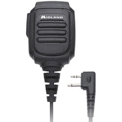 Midland Remote Speaker Microphone With PTT For GMRS Radios
