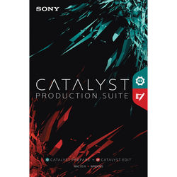 Sony Catalyst Production Suite Upgrade from Catalyst Prepare (Download)