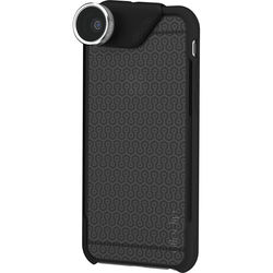 olloclip 4-in-1 Photo Lens + OLLOCASE for iPhone 6 Plus/6s Plus (Silver Lens with Black Clip & Smoke and Black Case)