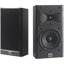 "JBL Arena 120 5.5"" 2-Way Passive Bookshelf Loudspeakers (Black, Pair)"
