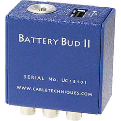Cable Techniques BBUDuKIT-SR Battery Bud II-USB Kit for Two Lectro SRa5P/SRb5P (SEXT) Receivers & Mixer