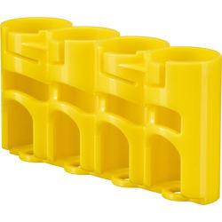 STORACELL SlimLine CR123 Battery Holder (Yellow)