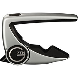 G7th Performance 2 Capo for Steel String Guitar (Silver)