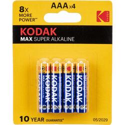 Kodak MAX AAA 1.5V Alkaline Batteries (4-Pack)