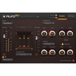 AURO Technologies Auro-Matic Pro 2D - Up-Mixing Plug-In