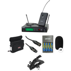 Shure SLX Series Basic Wireless Lavalier Microphone Kit (H5: 518 - 542 MHz)