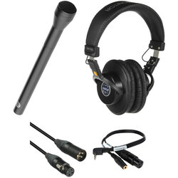 Senal ENG-18RL Handheld Professional Interviewer Mic Kit For iOS & Mobile Devices