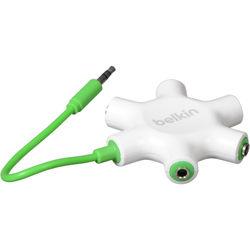 Belkin RockStar 5-Way Headphone Splitter (White)