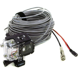 Eye Of Mine GoPro HERO3/3+/4 Underwater Integrated Power/Video Live Video Out Housing (100')