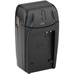 Watson Compact AC/DC Charger for NB-6L, NB-6LH, or DMW-BCM13 Battery