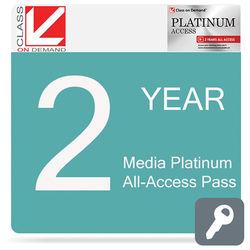 Class on Demand Media Platinum 2-Year All-Access Pass