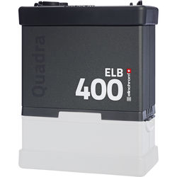 Elinchrom ELB 400 Quadra Battery-Powered Pack without Battery
