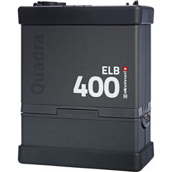 Elinchrom ELB 400 Quadra Battery-Powered Pack with Battery
