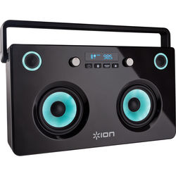 ION Audio Spectraboom Stereo Wireless Boombox with Colored Speakers