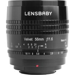 Lensbaby Velvet 56mm f/1.6 Lens for Fujifilm X