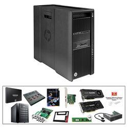 B&H Photo PC Pro Workstation HP Z840 Mid-Level DaVinci Resolve Turnkey with Tangent Wave Panel