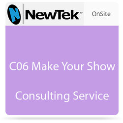 NewTek C06 Make Your Show Consulting Service